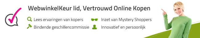 WebwinkelKeur button